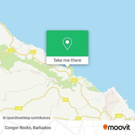 Congor Rocks map