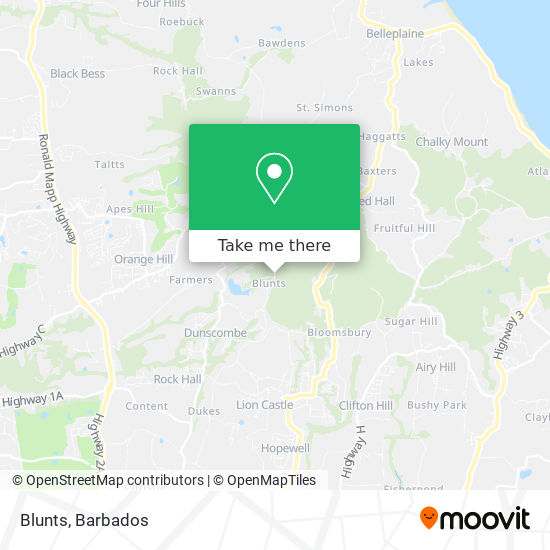 Blunts map