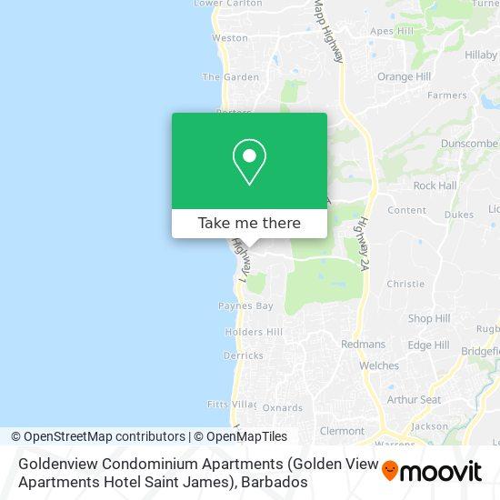 Goldenview Condominium Apartments (Golden View Apartments Hotel Saint James) map