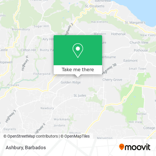 Ashbury map