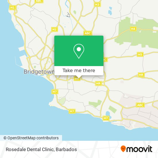 Rosedale Dental Clinic map