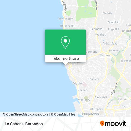 La Cabane map