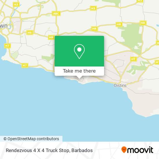 Rendezvous 4 X 4 Truck Stop map