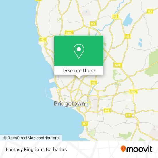 Fantasy Kingdom map