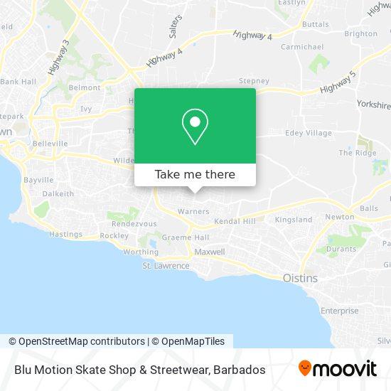 Blu Motion Skate Shop & Streetwear map