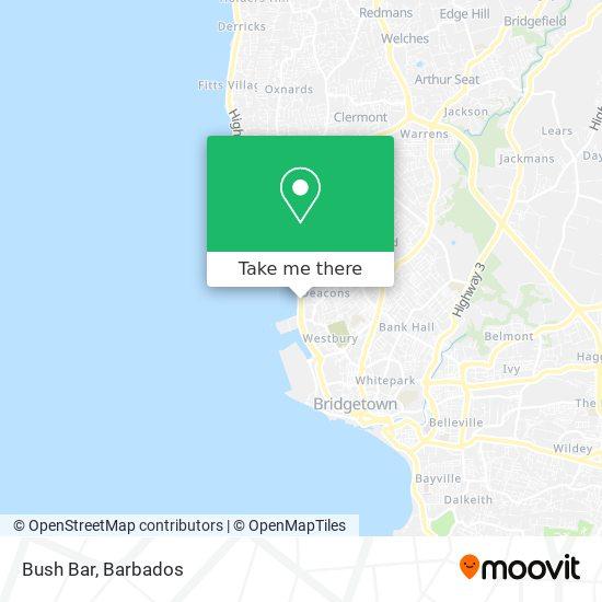 Bush Bar map