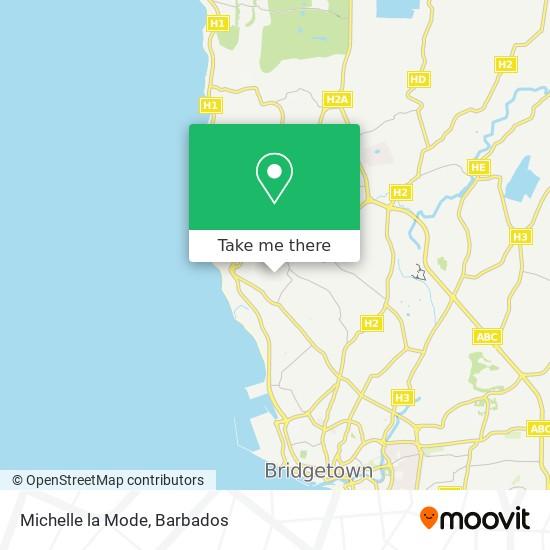 Michelle la Mode map