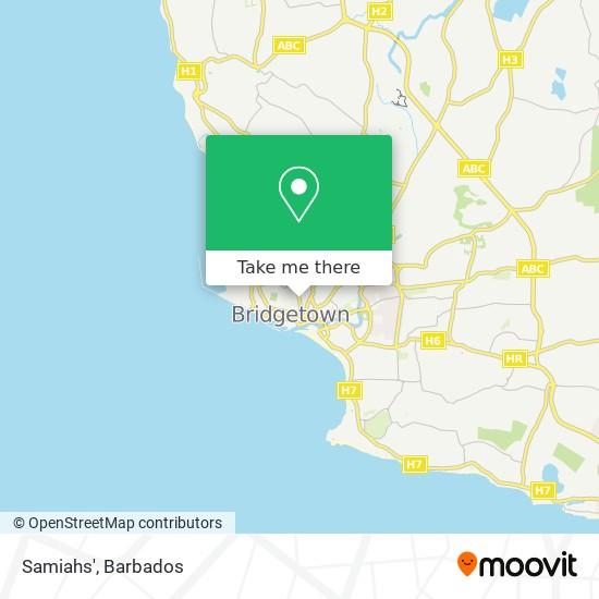 Samiahs' map
