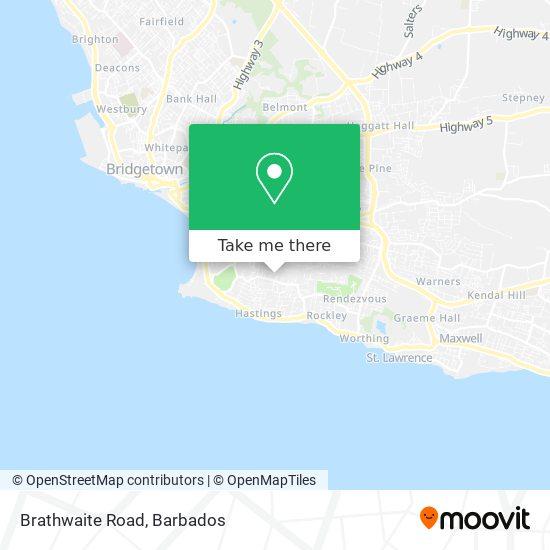 Brathwaite Road map