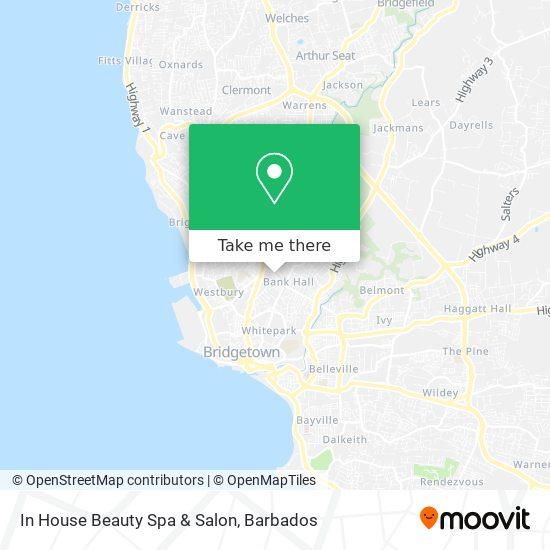 In House Beauty Spa & Salon map
