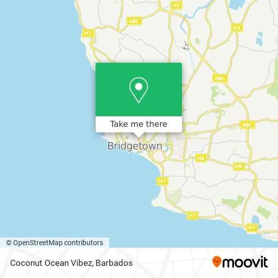 Coconut Ocean Vibez map