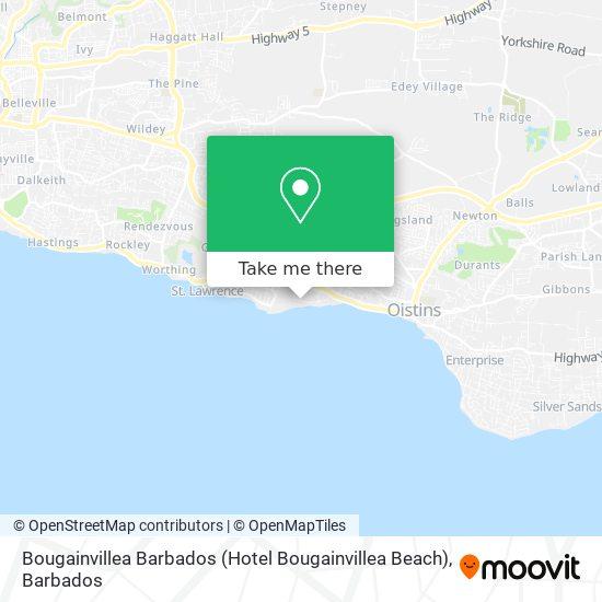 Bougainvillea Barbados (Hotel Bougainvillea Beach) map