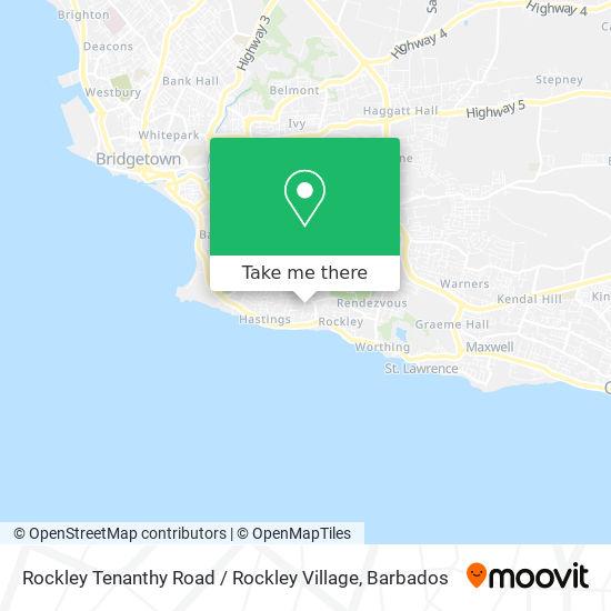 Rockley Tenanthy Road / Rockley Village map