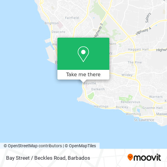 Bay Street / Beckles Road map