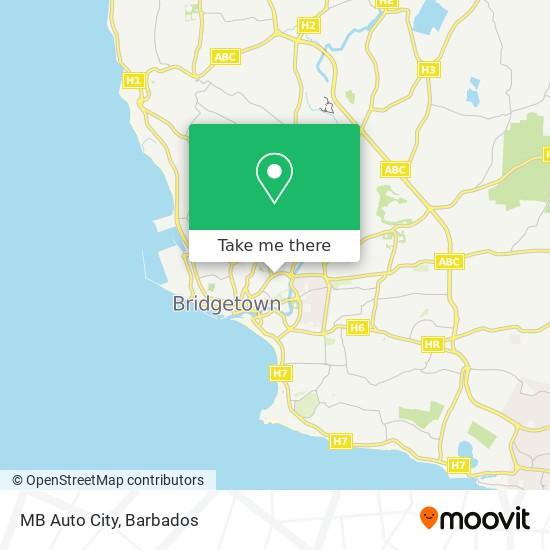 MB Auto City map