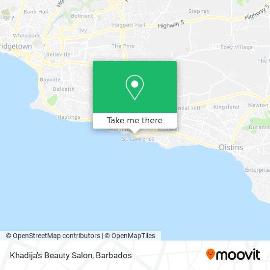 Khadija's Beauty Salon map
