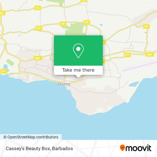 Cassey's Beauty Box map