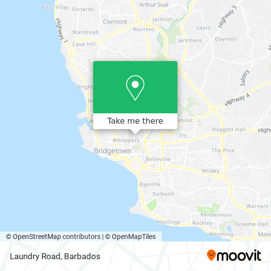 Laundry Road map