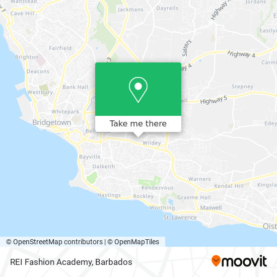 REI Fashion Academy map