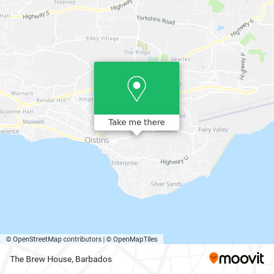 The Brew House map