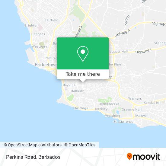 Perkins Road map