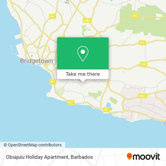 Obiajuiu Holiday Apartment map