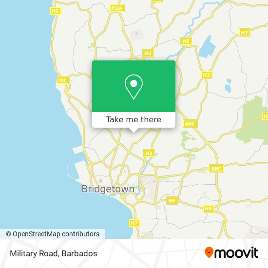 Military Road map