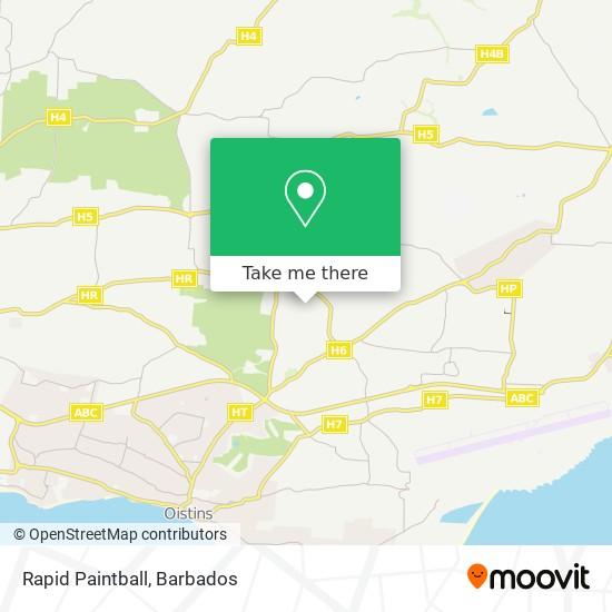 Rapid Paintball map