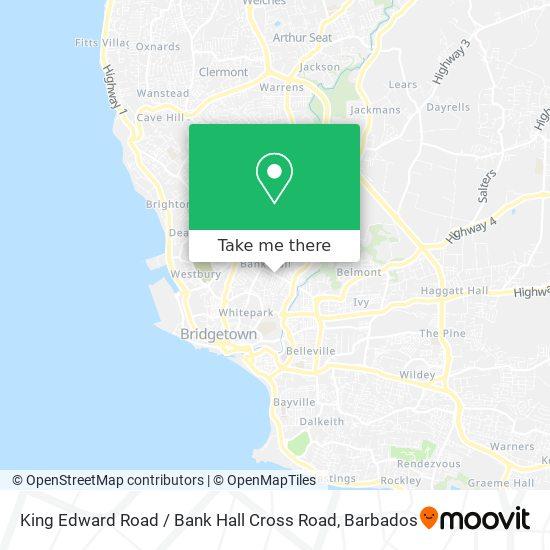 King Edward Road / Bank Hall Cross Road map