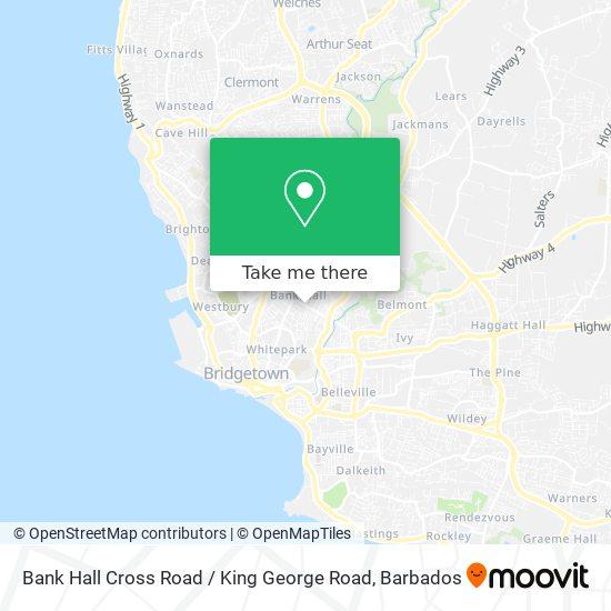 Bank Hall Cross Road / King George Road map