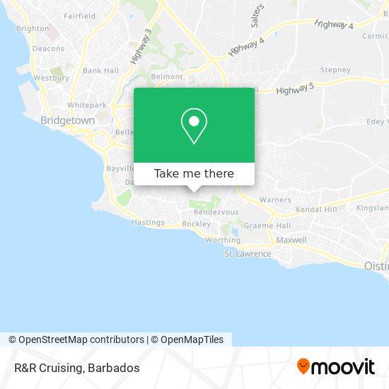R&R Cruising map