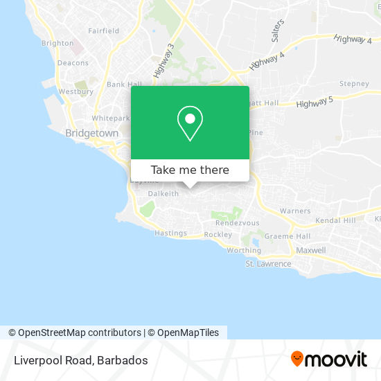 Liverpool Road map