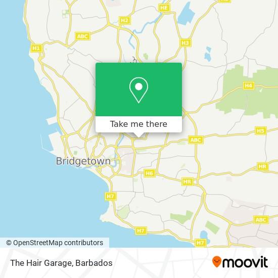 The Hair Garage map