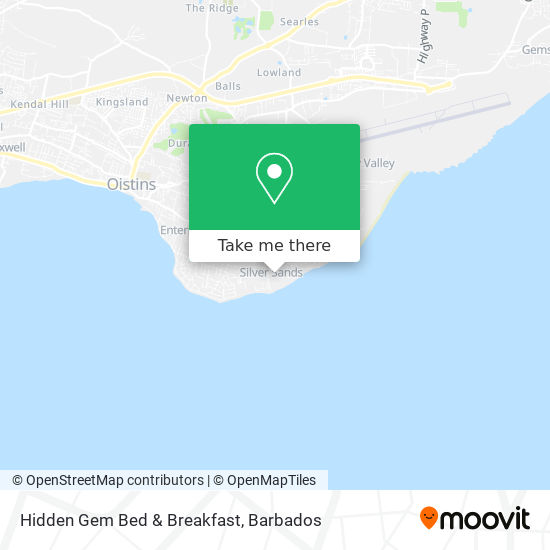 Hidden Gem Bed & Breakfast map