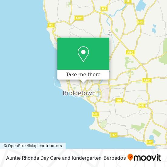 Auntie Rhonda Day Care and Kindergarten map