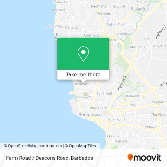 Farm Road / Deacons Road map