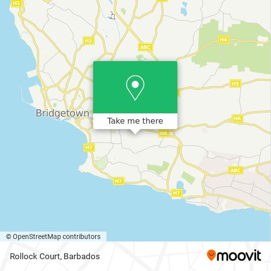 Rollock Court map