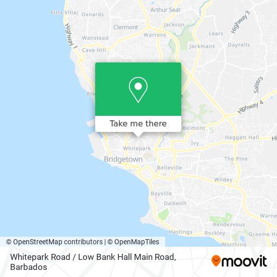 Whitepark Road / Low Bank Hall Main Road map
