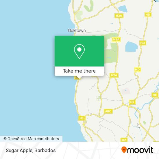 Sugar Apple map