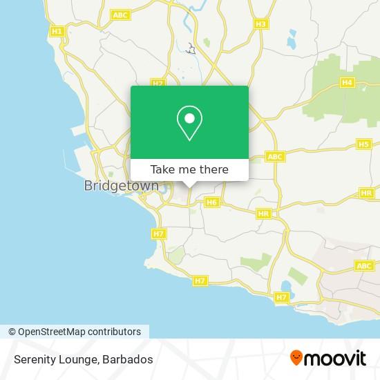 Serenity Lounge map