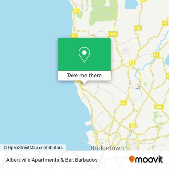 Albertiville Apartments & Bar map