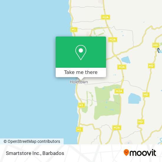 Smartstore Inc. map