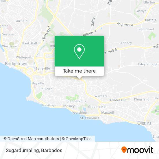 Sugardumpling map