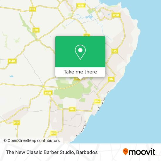 The New Classic Barber Studio map