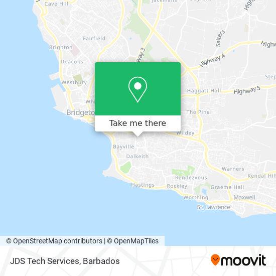 JDS Tech Services map