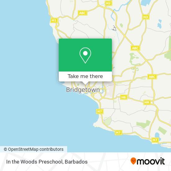 In the Woods Preschool map