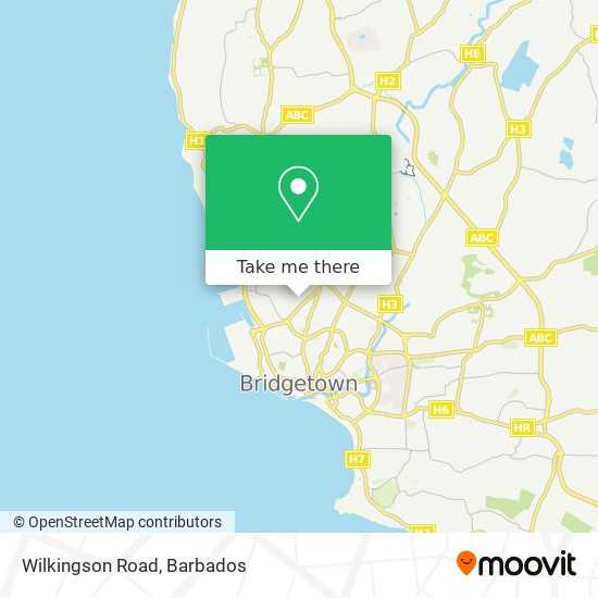 Wilkingson Road map