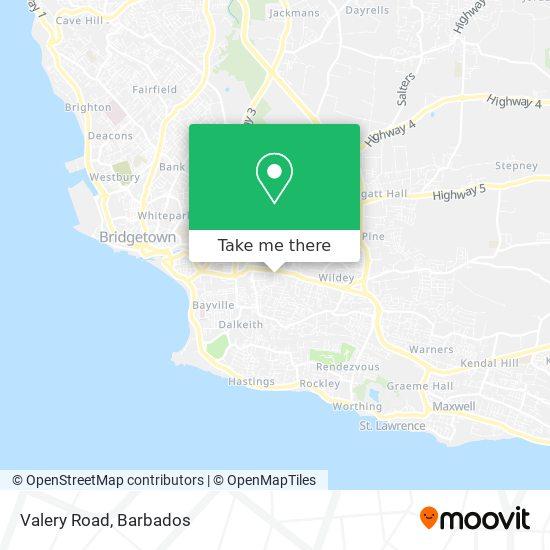 Valery Road map
