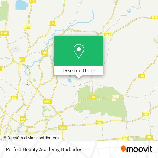 Perfect Beauty Academy map