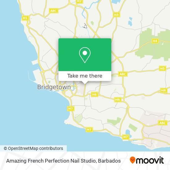Amazing French Perfection Nail Studio map